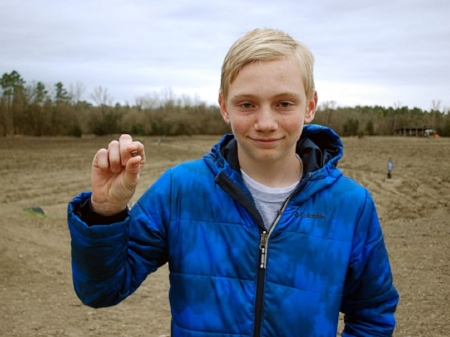 Kalel Langford, 14, of Centerton, Arkansas, found the 7th-largest diamond ever discovered in Crater of Diamonds State Park