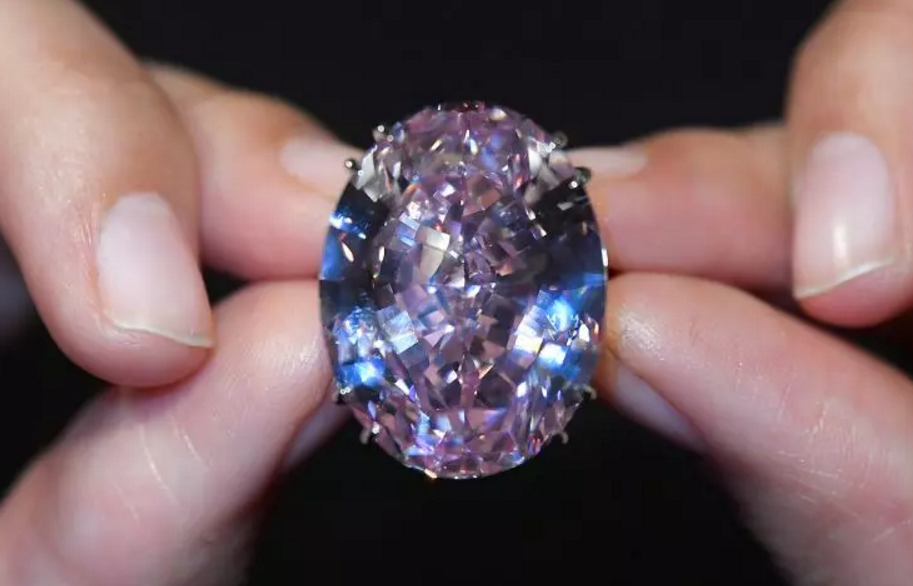 The previous world record for a pink diamond was set in 2010 by the 24.79 carat Graff Pink which was sold for $46.2 million. The Pink Star diamond also broke the record for all diamonds, a title previously held by the Oppenheimer Blue diamond, sold at a Christie's auction in May for $58 million.