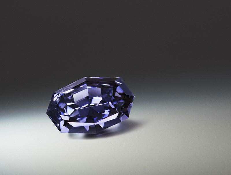 Argyle Ocean Seer is the largest Fancy Deep Violet diamond graded by the GIA. - Part of Argyle Diamonds Signature Tender