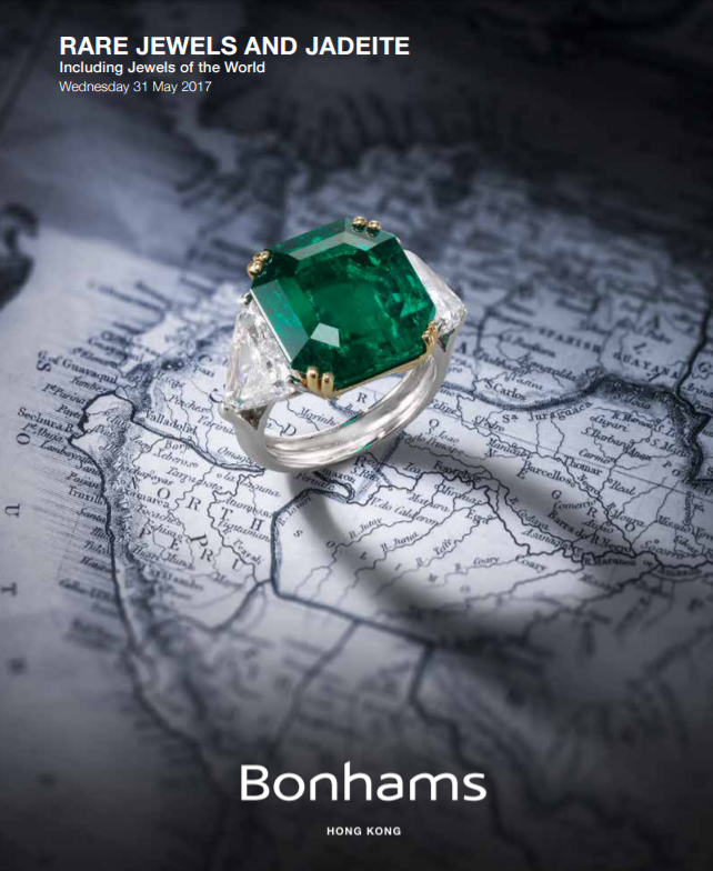 Bonham's Rare Jewels and Jadeite May 31, 2017 Hong Kong