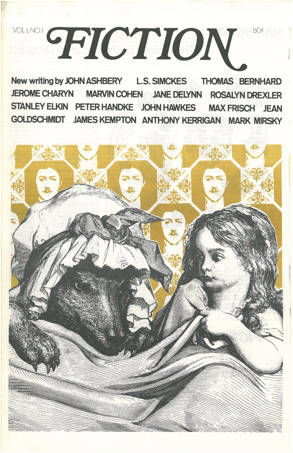 Fiction 's first issue, vol. 1 no. 1, 1972.