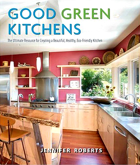 Cover Image, Good Green Kitchens
