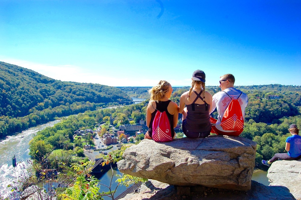 Group hike up the Maryland Heights Trail, where we enjoyed great conversation and beautiful views of Harper's Ferry.