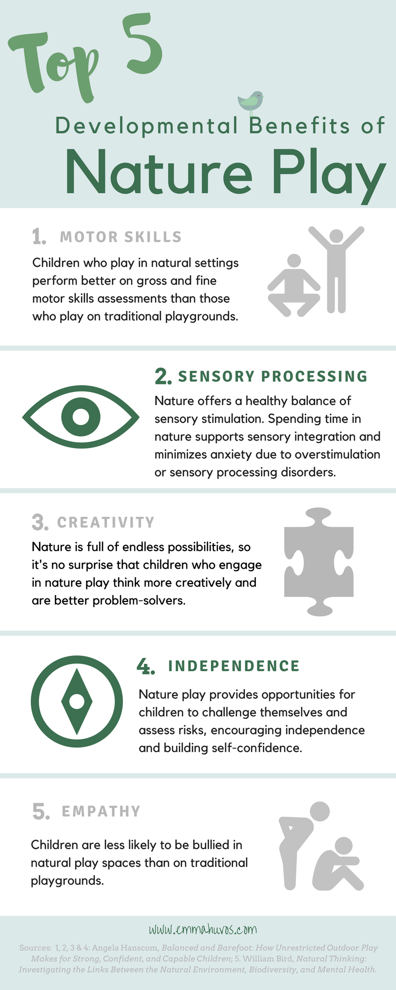 Top 5 Developmental Benefits of Nature Play