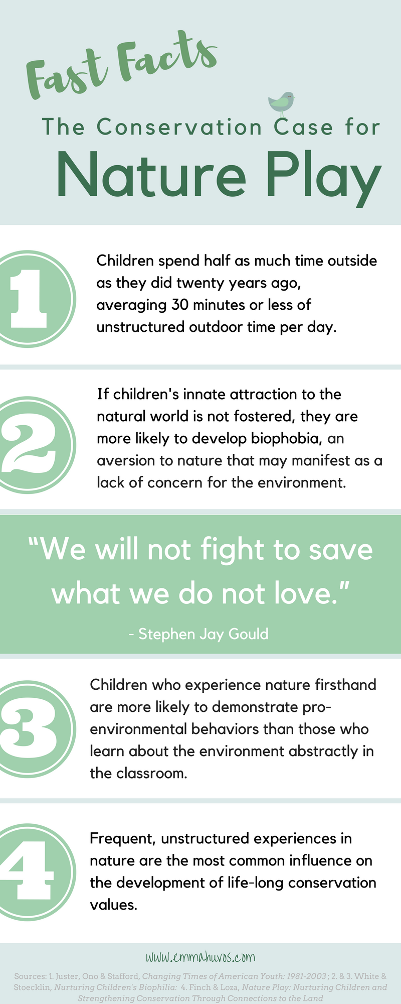 The Conservation Case for Nature Play