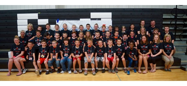 Camp 1 Participants and Staff: Grades 4–6