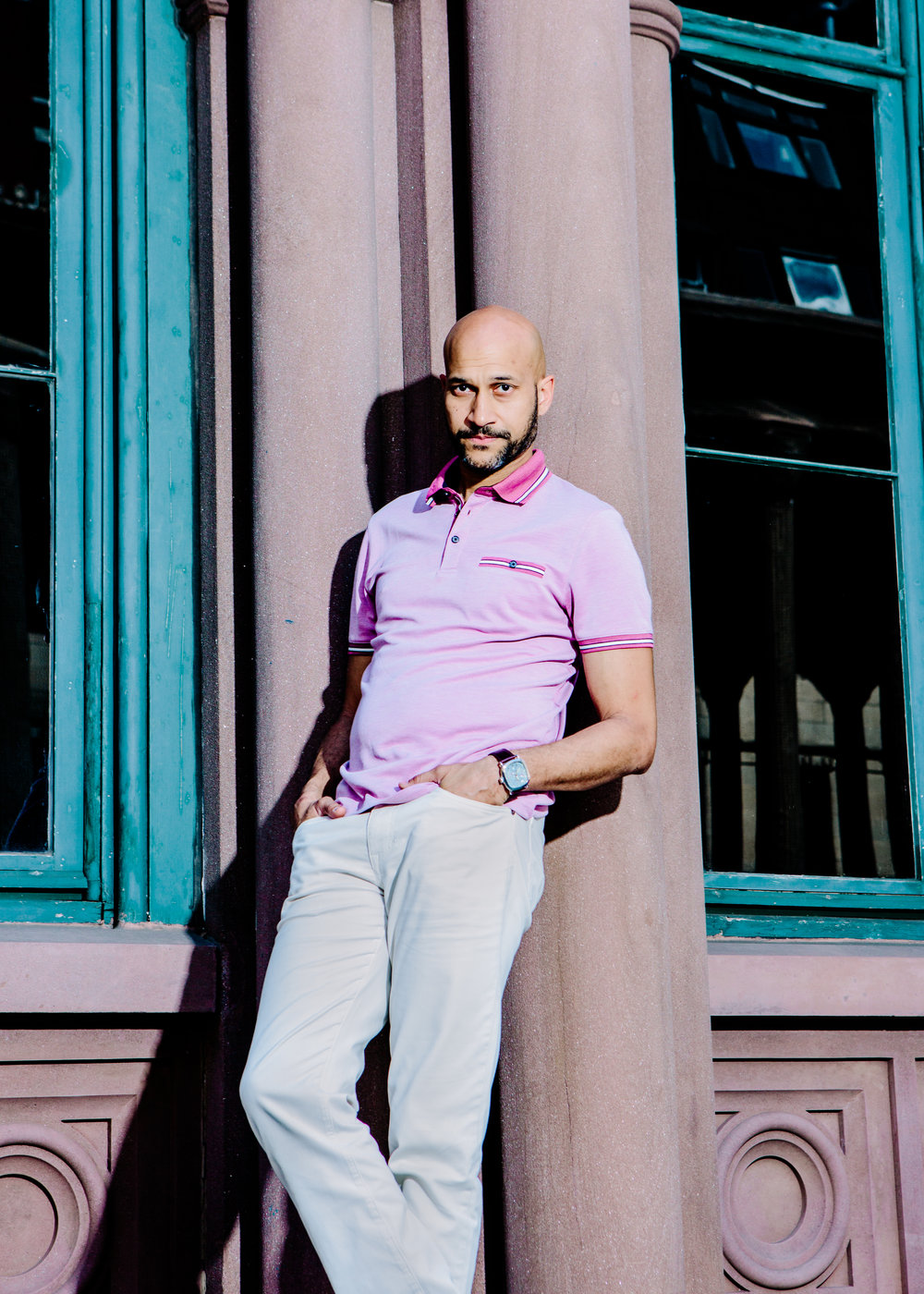Keegan-Michael Key for The New York Times