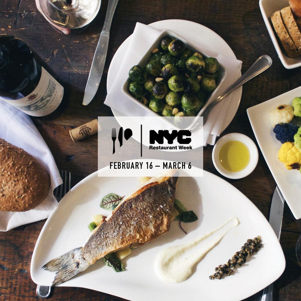 RestaurantWeekLunchDinnerNYC