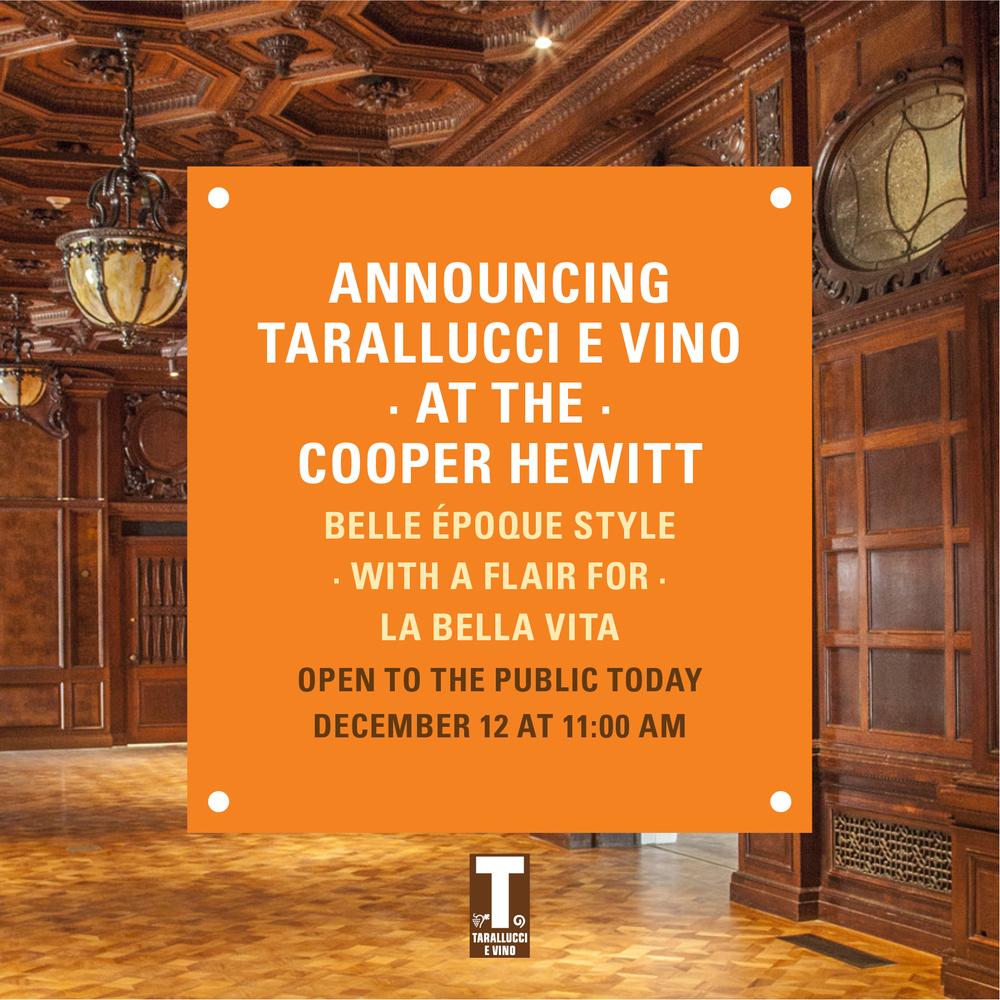 CooperHewitt_NYC_Cafe_Tarallucci