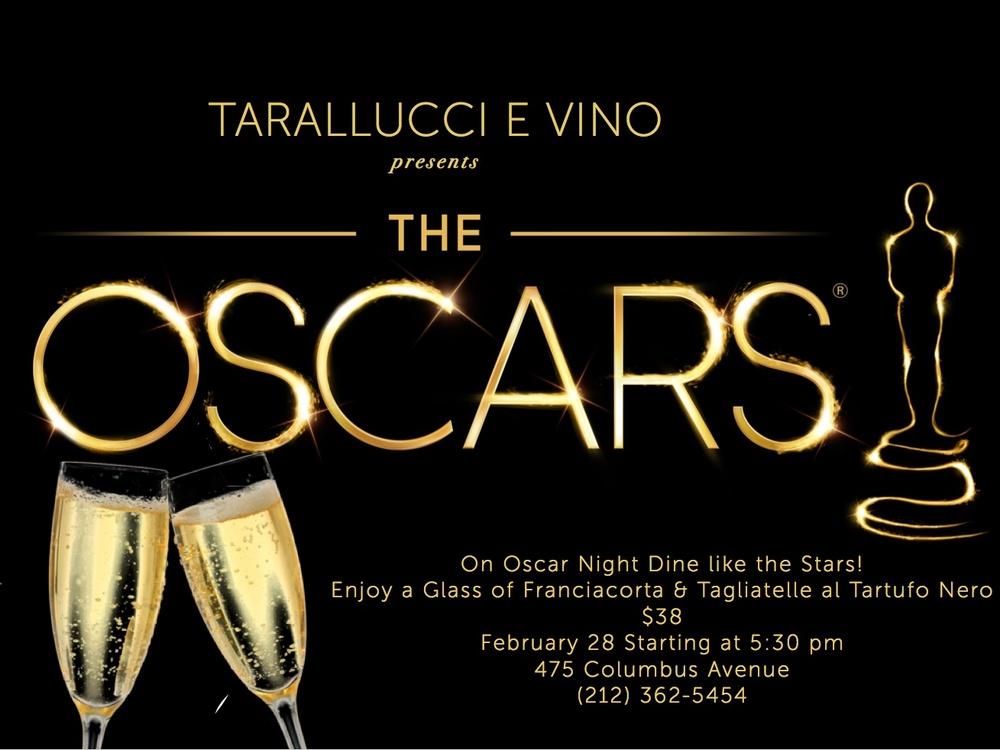 Oscar Party Poster