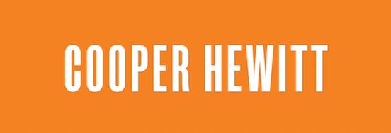 Copy of COOPER HEWITT