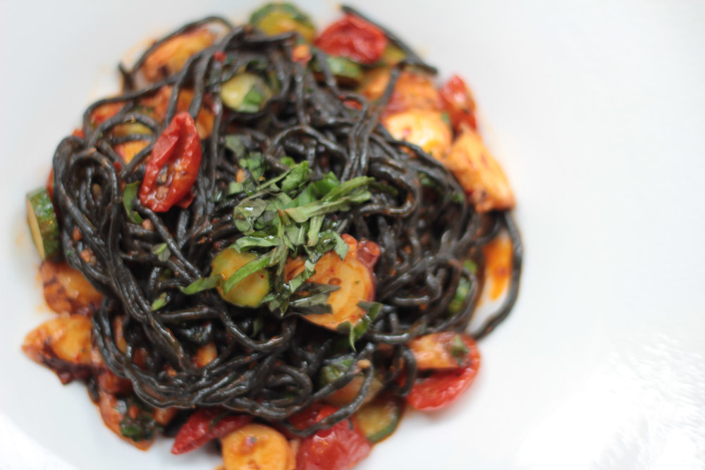Squid ink pasta. Tarallucci e Vino Union Square.
