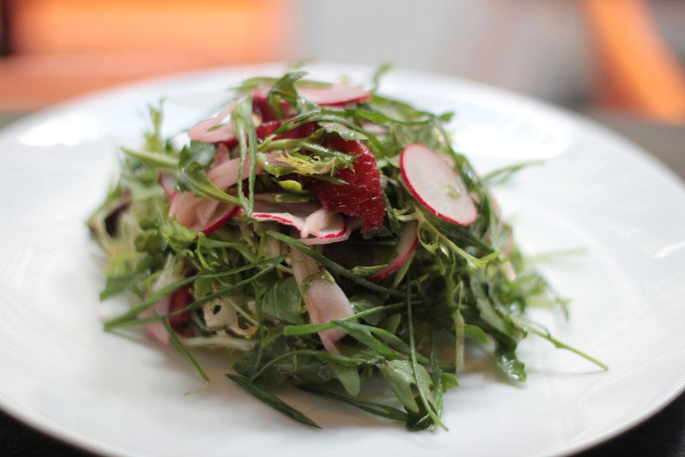 Radicchio salad. Tarallucci e Vino Union Square.