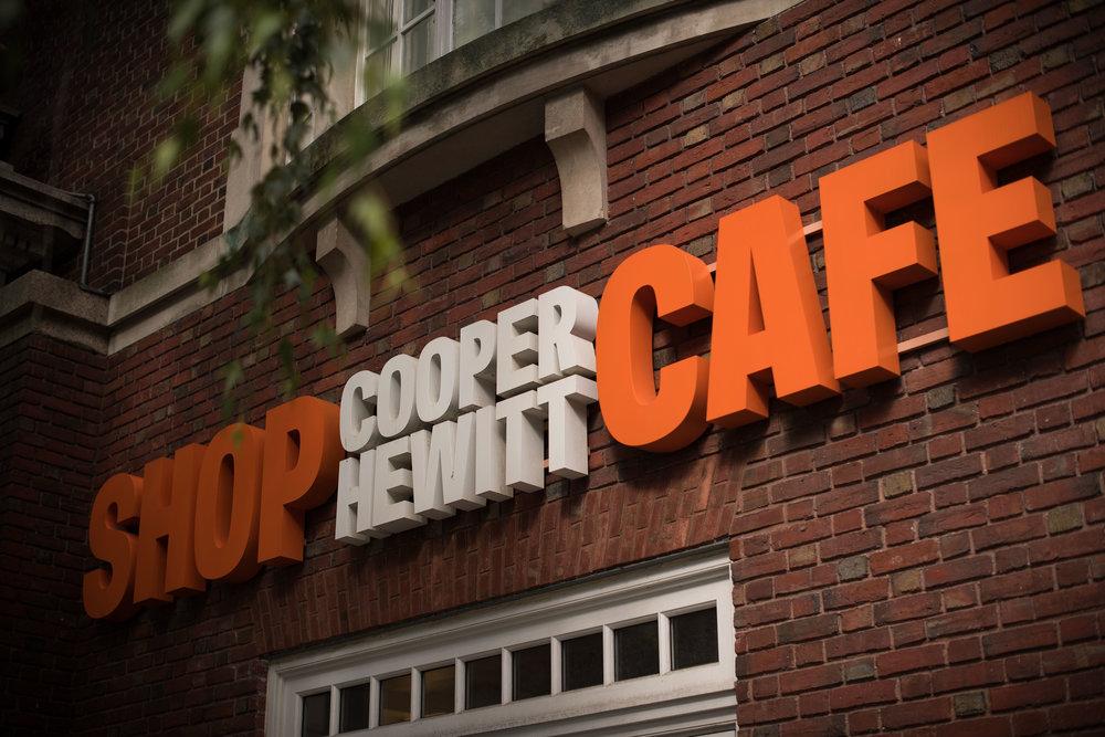 Cooper Hewitt Café.