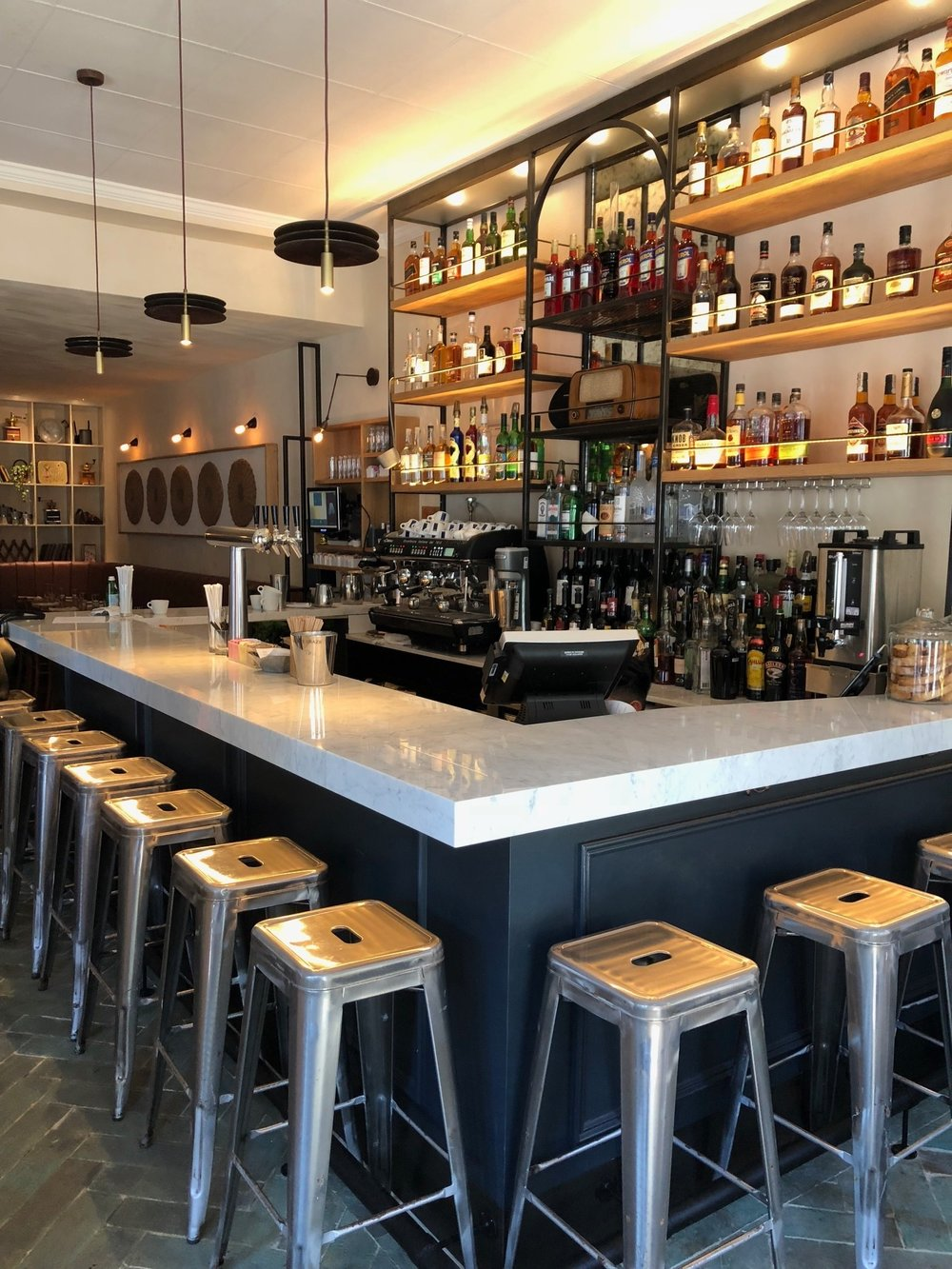Bar area - Tarallucci e Vino East Village.