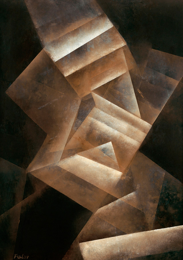 Fritz Winter,  Crystal  Gradations   (1934)