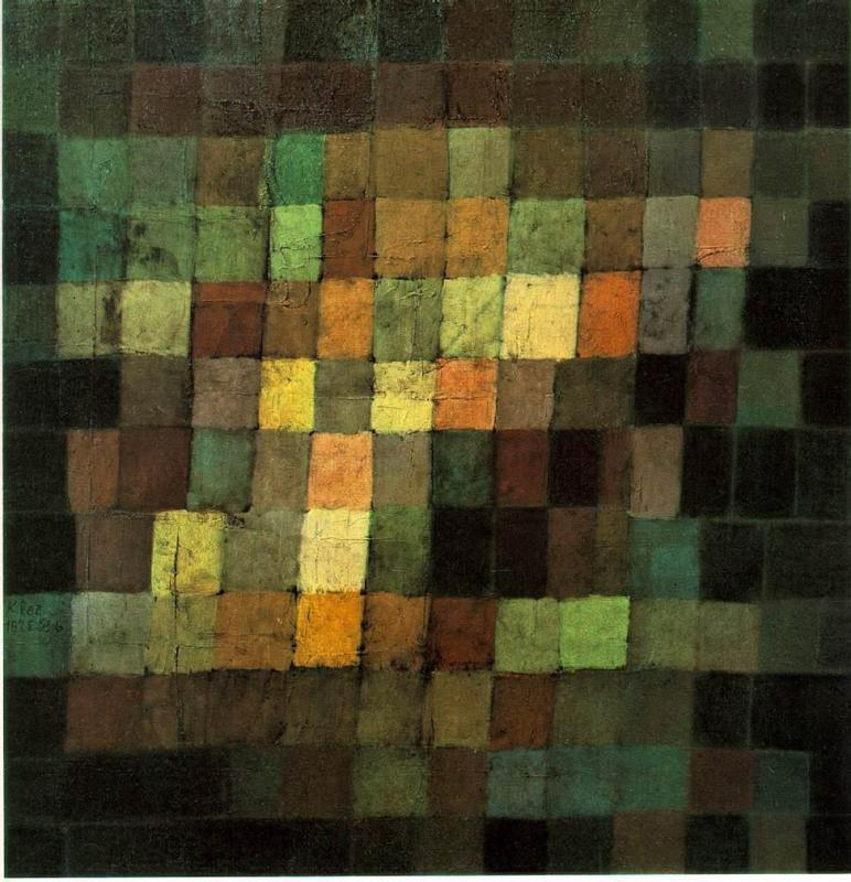 "Paul Klee, ""Alter Klang"" (1925)"