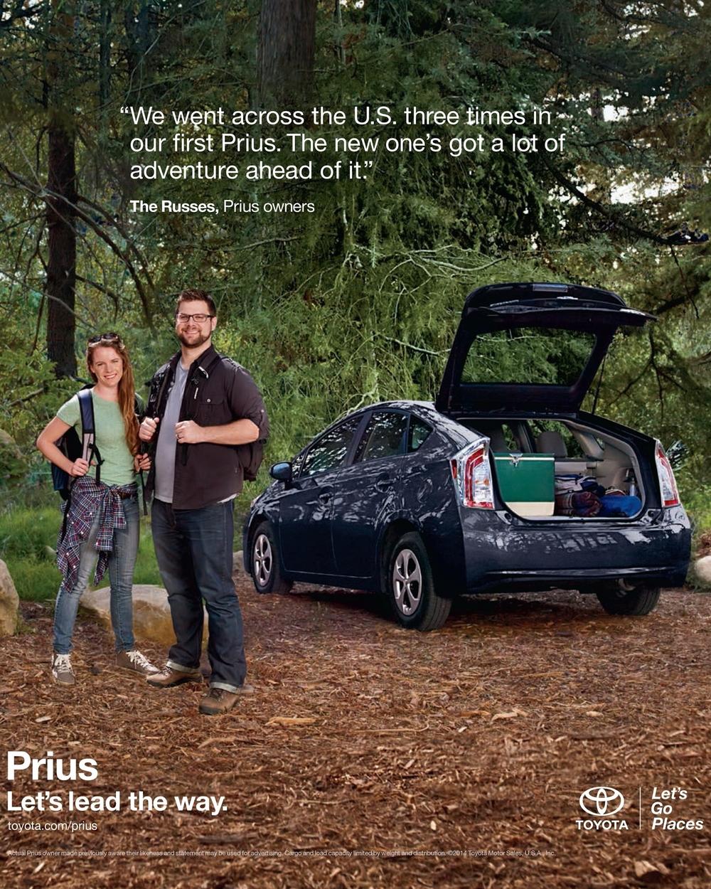Toyota Prius Liftback Tearsheet