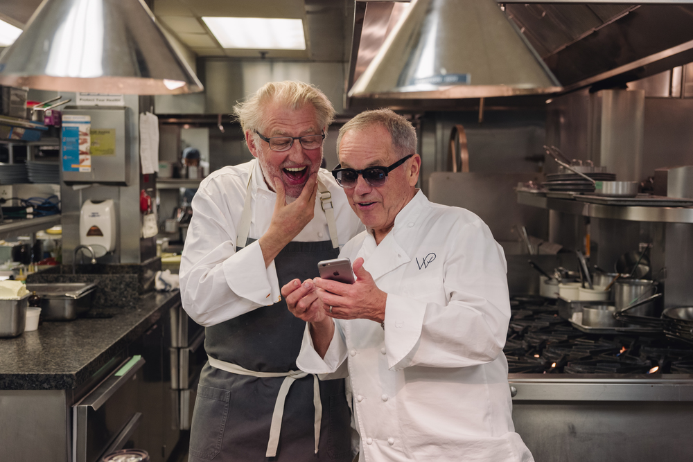 Wolfgang Puck for Hotel Bel-Air