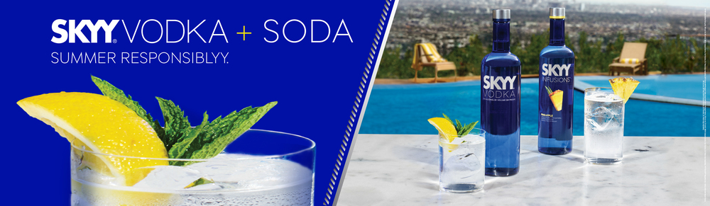 SKYY Vodka - Summer Print Campaign