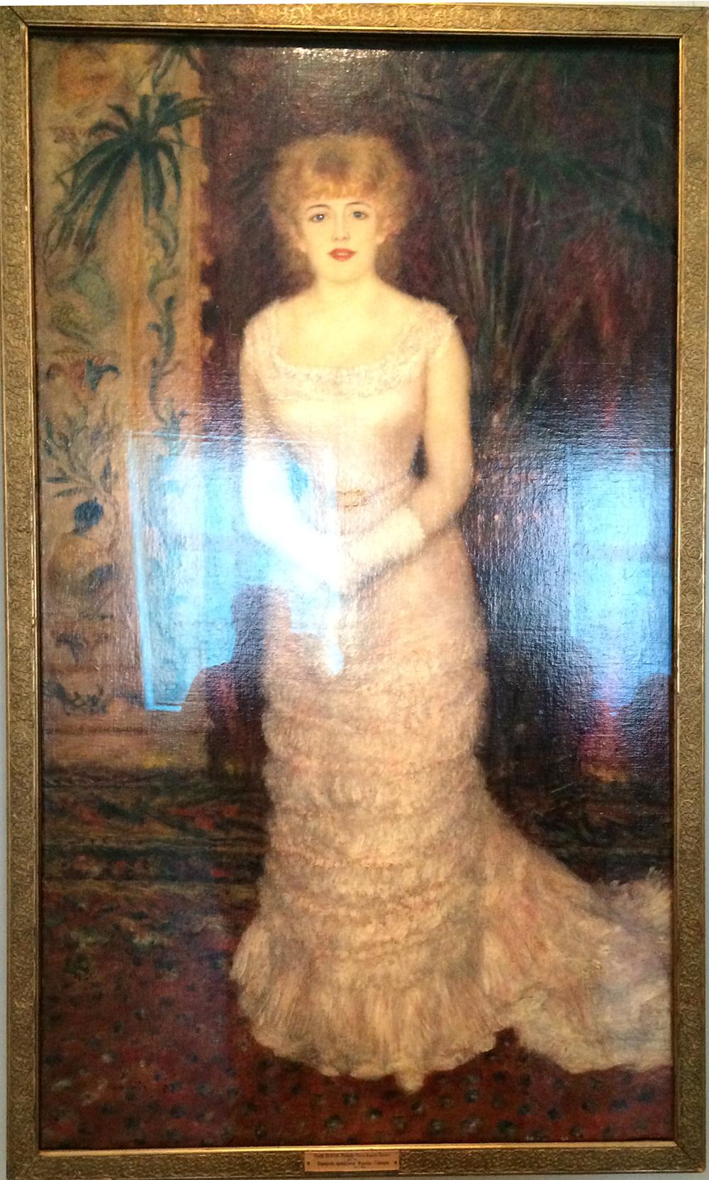 Ренуар-портрет актрисы Жанны Самари