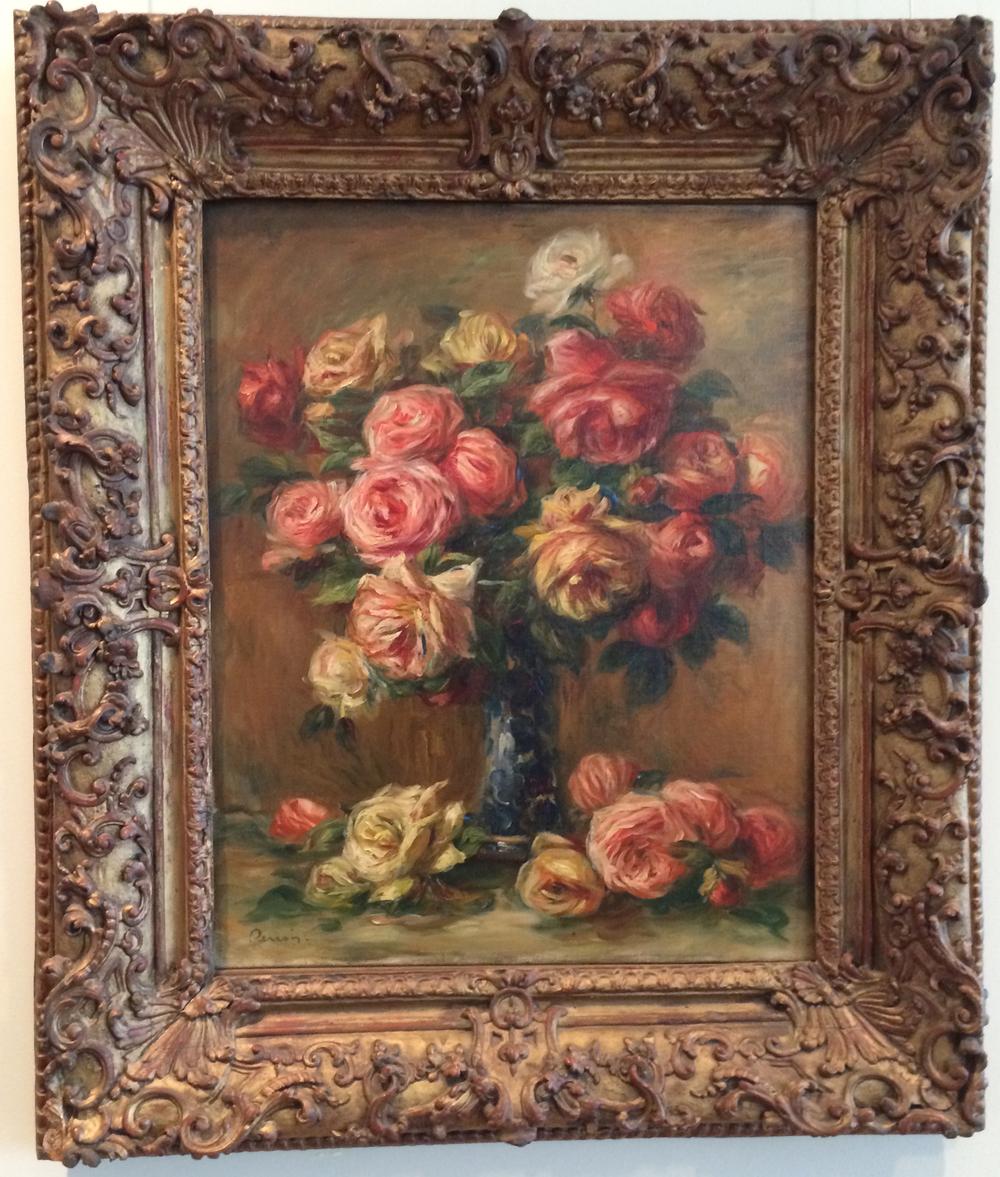 Ренуар-роза в вазе