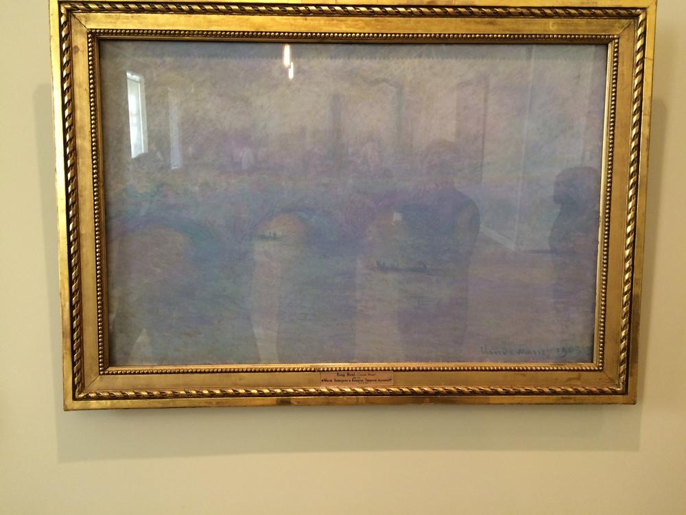 """Рис.11а Клод Мане """"Мост Ватерлоо. Эффект тумана"""", 1903"""