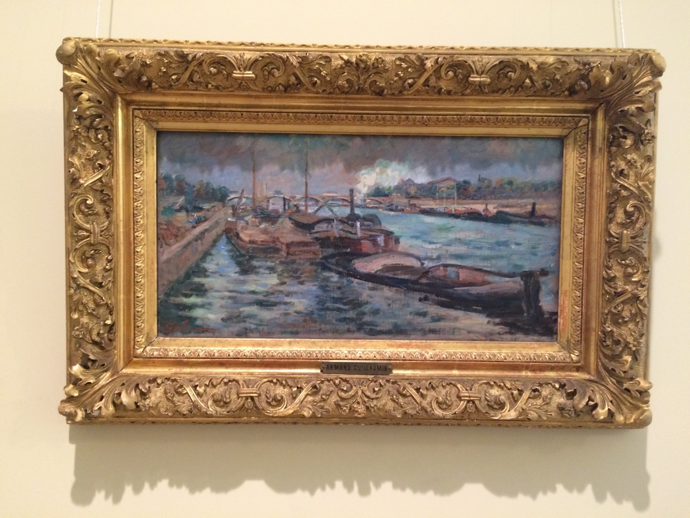 """Рис.16аАрман Гийомен """"Сена в Берси"""", ок.1867-1868"""