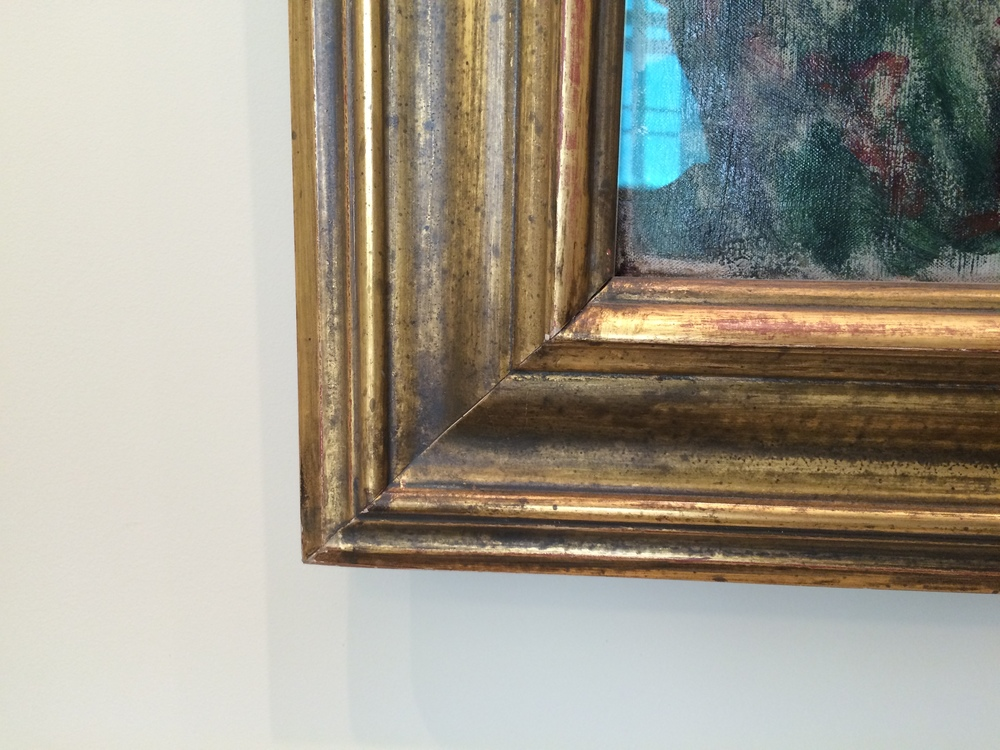 """Рис.14б Клод Мане """"Уголок сада в Монжероне"""", 1876"""