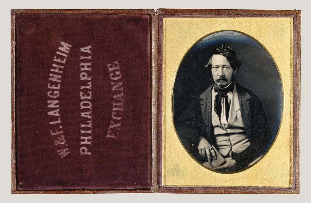 "Рис.2 William Langenheim ""Портрет Фредерика Лангенхейма"", приблизительно 1848 г."