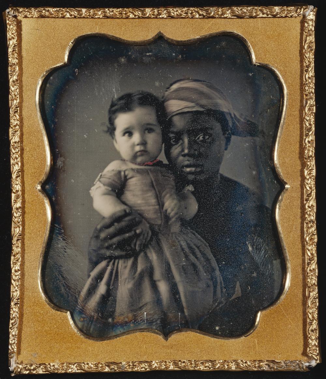 "Рис.3 ""Портрет няни с ребенком"" (автор неизвестен), приблизительно 1850 г."