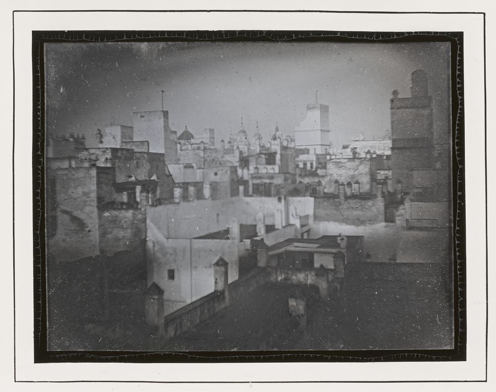 """Рис.9 ПриписываетсяThéophile Gautier иEugène Piot """"Вид на Кадис, Испания"""", 1840 г."""