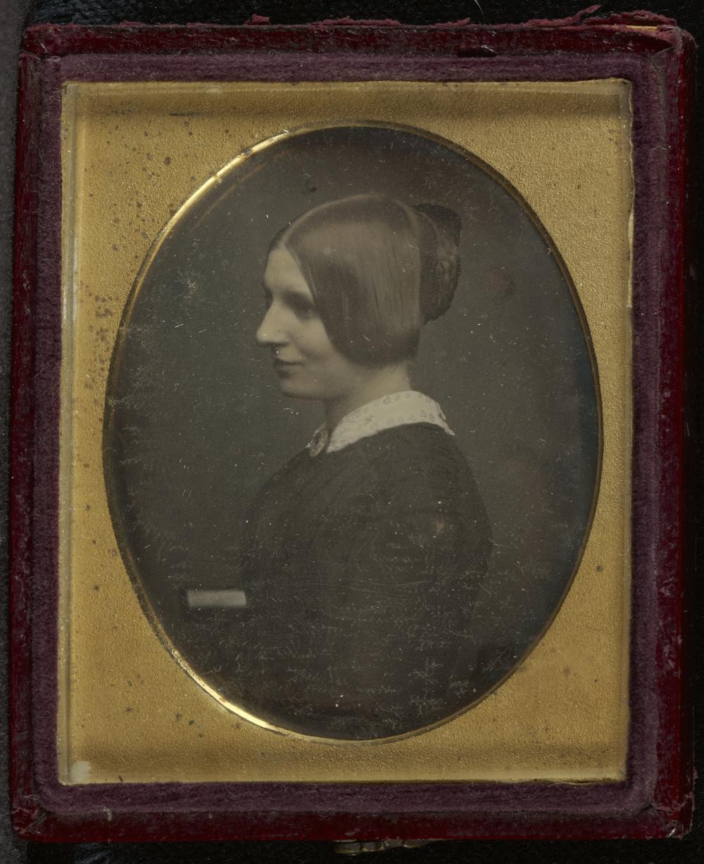 """Рис.17 Antoine Claudet """"Портрет женщины"""", приблизительно 1846 г."""
