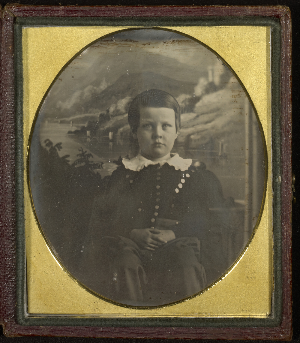 """Рис.26 Jeremiah Gurney """"Портрет Эдварда Каррингтона младшего"""", 1842 г."""