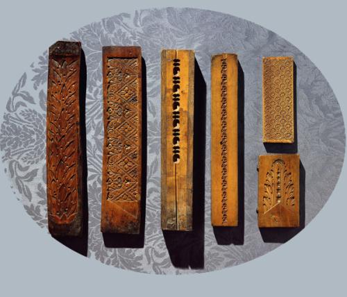 Рис.3 Профиля из самшита, из коллекции  Пола Митчелла