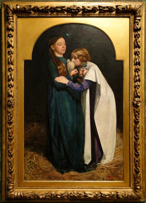 """Рис.4 Сэр Джон Э́веретт Милле """"Возвращение голубя в Ноев ковчег"""" (1851)"""