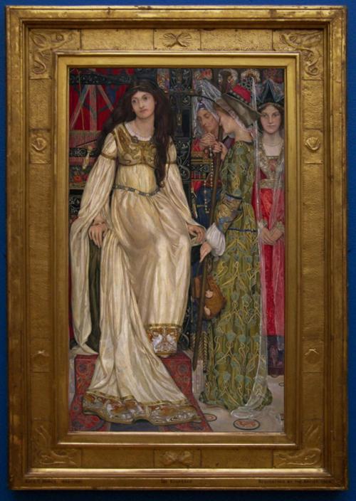 """Рис.5 Кейт Банс """"Подарок на память"""" (1898-1901), рама Миры Банс."""