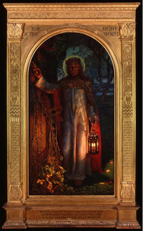 Рис.6 Уильям Холман Хант «Светоч мира» (1900-04)