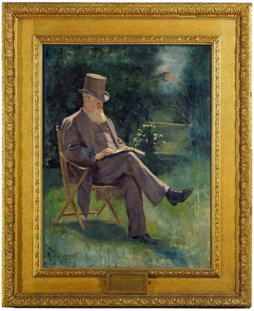 "Рис.9 Эмили Чилдерс ""Хью Чилдерс"" (1891)"
