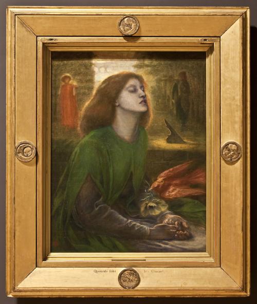 """Рис.11 Данте Габриэль Россетти """"Блаженная Беатриса"""" (1864-1870)"""