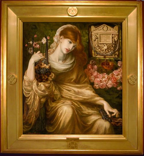 """Рис.13 Данте Габриель Россетти """"Dis manibus"""" (1874)"""