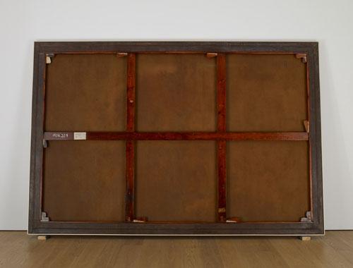 """Рис.4 Вик Мунис,Обратная сторона картины Жоржа Сера"""" Воскресный день на острове Гранд-Жатт """""""