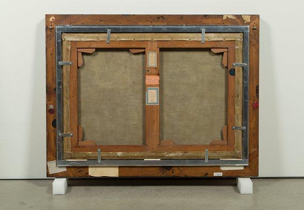"""Рис.14 Вик Мунис,Обратная сторона картиныРембранта """"Урок анатомии доктора Тюльпа"""""""