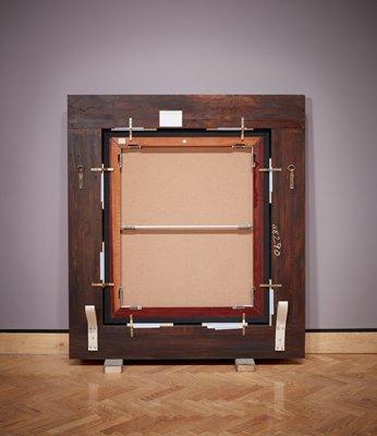 """Рис.19 Вик Мунис,Обратная сторона картиныРембранта """"Лукреция"""""""