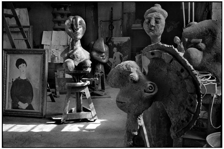Рис.15 Студия Пикассо, 1944