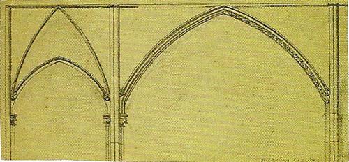 """Рис.8 Форд Мэдокс Браун (1821-93) Набросок рамы для""""Суламифь и Мария"""""""