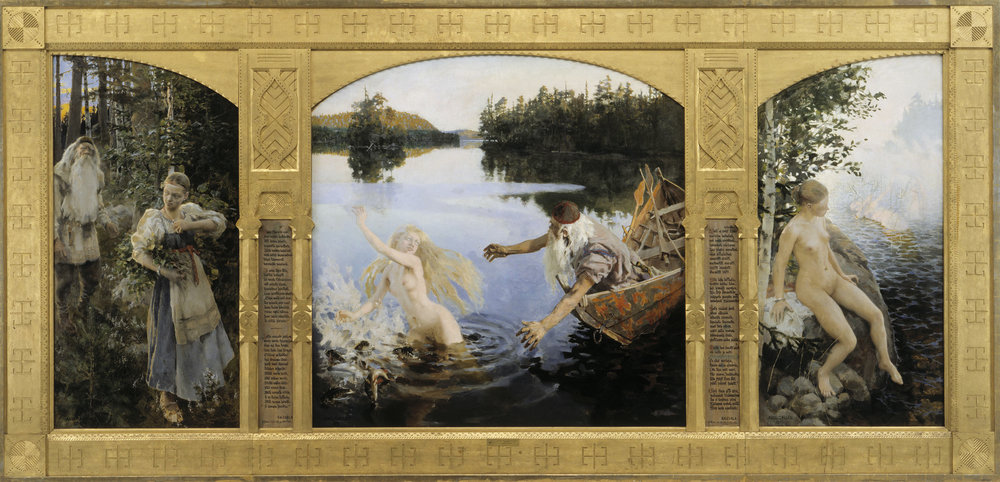 Gallen Kallela Aino Myth