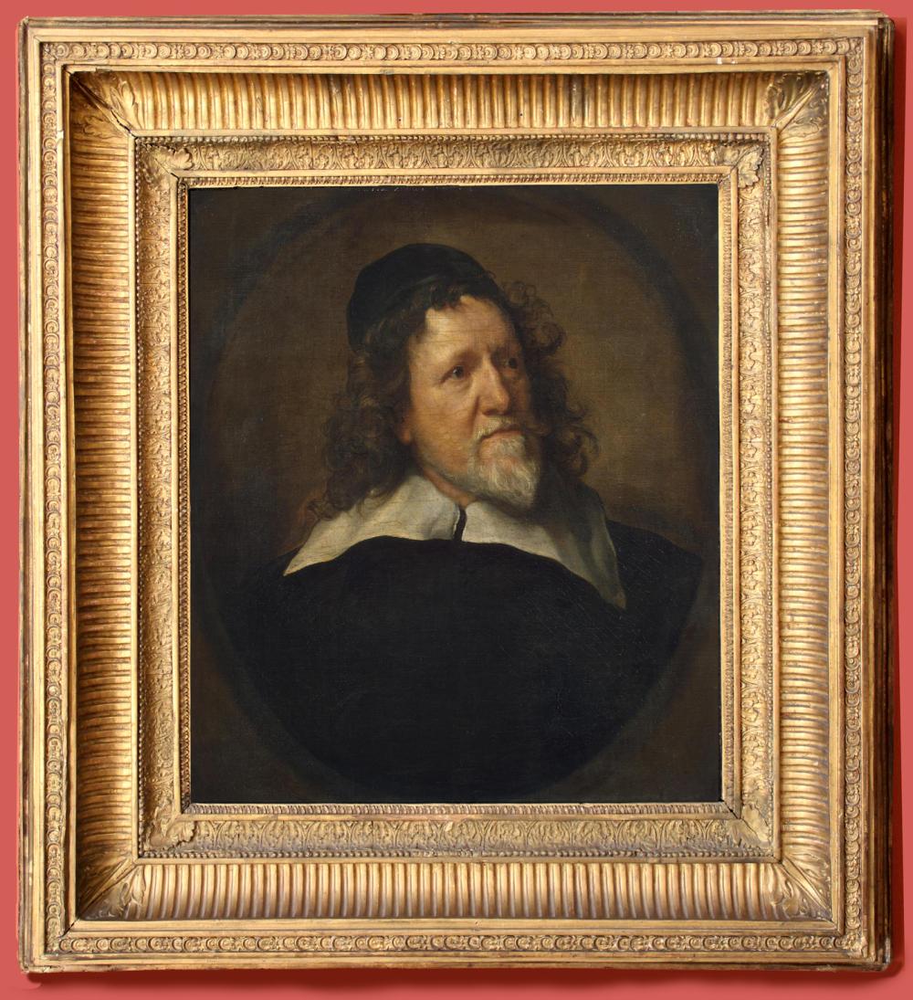 """Рис.1 Антонис ван Дейк (1599-1641), """"Портрет Иниго Джонса"""", 1630-35"""