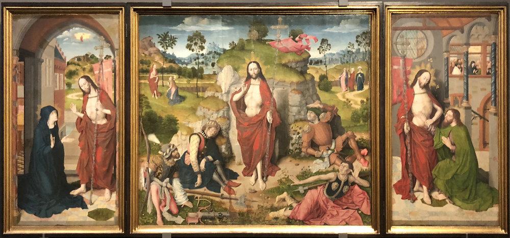 Рис.5 Алтарь Эхингера (до 1482 г.)