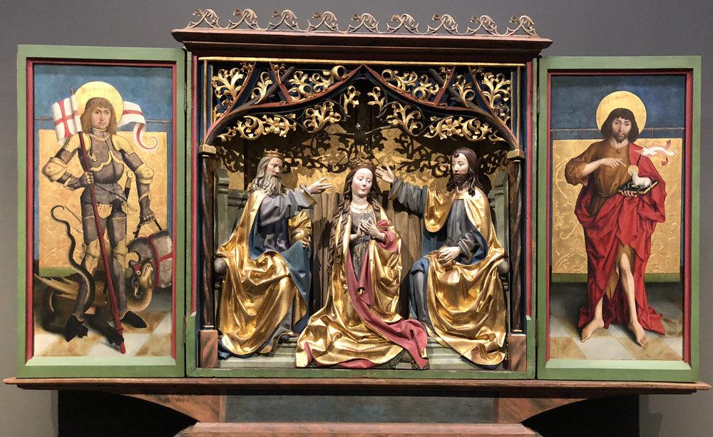Рис.8 Алтарь Кильхберга (около 1494 г.)